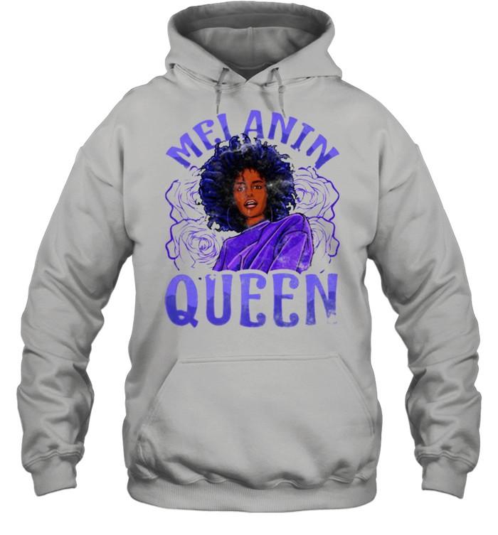 Melanin Queen Inspired Black Woman Related African T- Unisex Hoodie