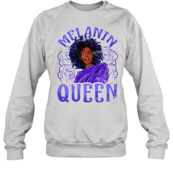Melanin Queen Inspired Black Woman Related African T- Unisex Sweatshirt