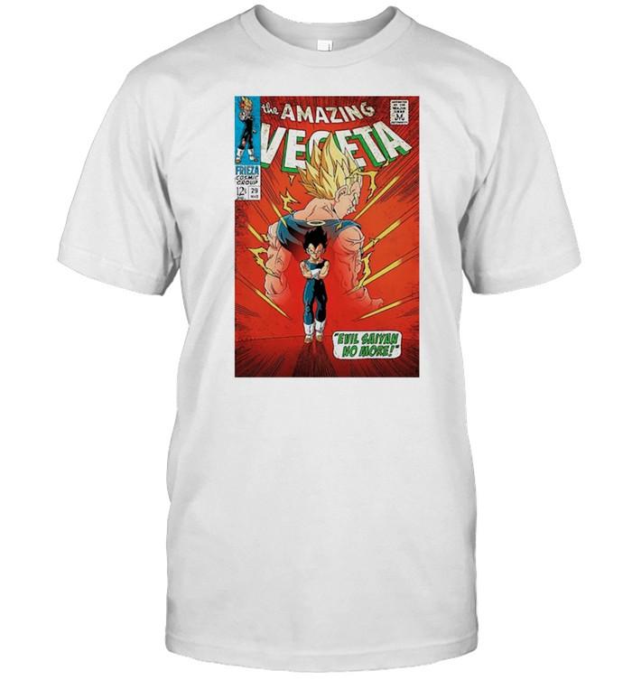 The Amazing Vegeta shirt Classic Men's T-shirt