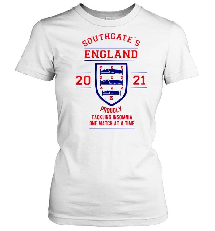 Southgates England tacking Insomnia shirt Classic Women's T-shirt