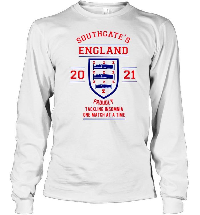 Southgates England tacking Insomnia shirt Long Sleeved T-shirt
