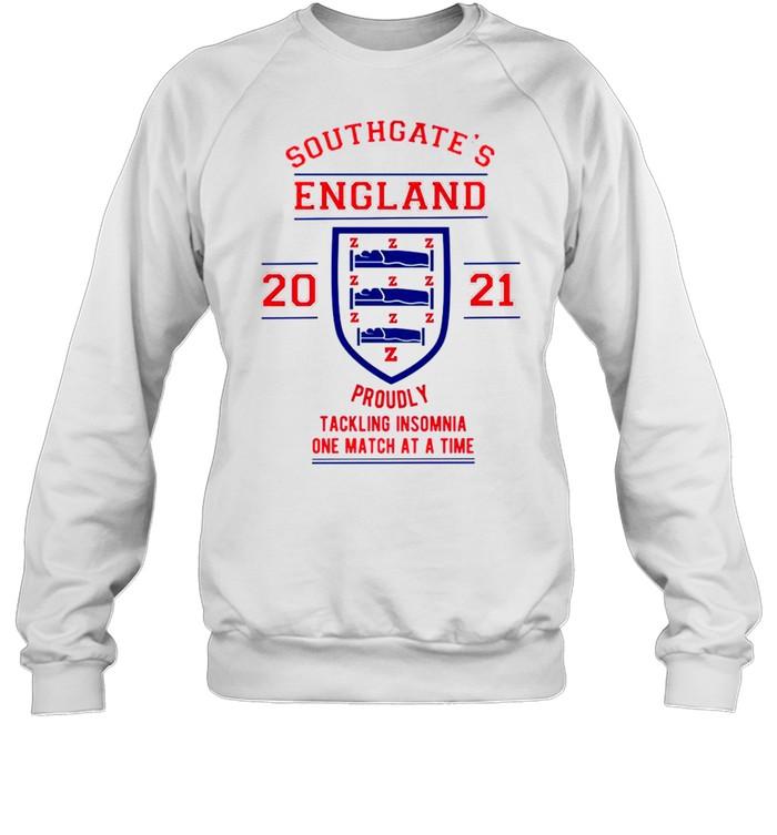 Southgates England tacking Insomnia shirt Unisex Sweatshirt