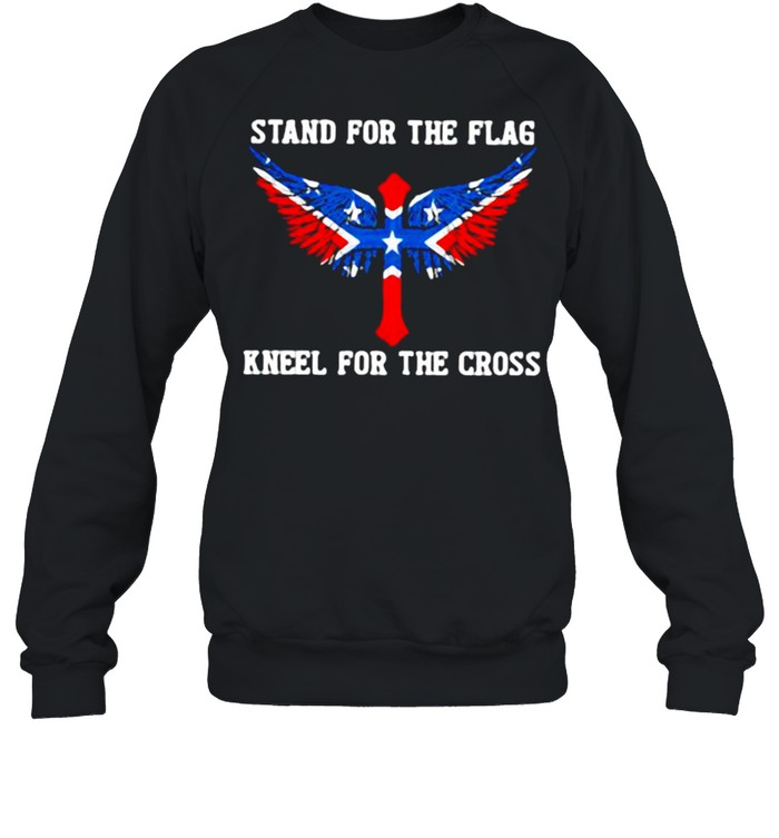 Stand For The Flag Kneel For The Cross  Unisex Sweatshirt
