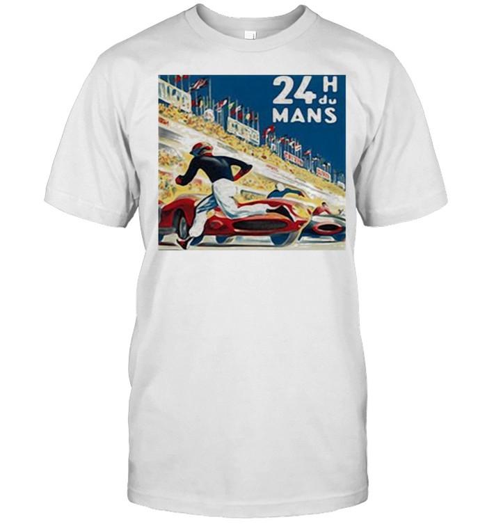 24 Hours of Le Mans Racing  Classic Men's T-shirt