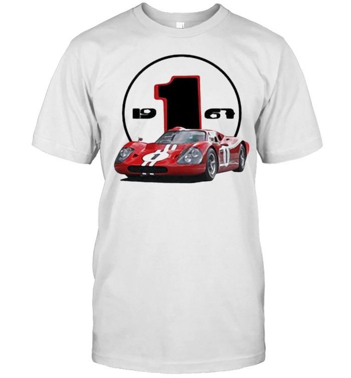 Ford GT40 Mark IV Le Mans 1967  Classic Men's T-shirt