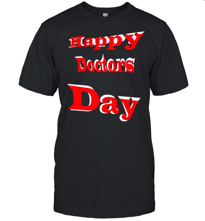 Happy doctors day shirt Classic Men's T-shirt