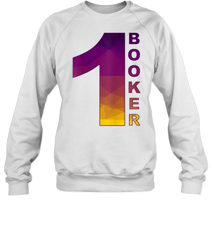 Black suns Booker Phoenix number 1  Unisex Sweatshirt