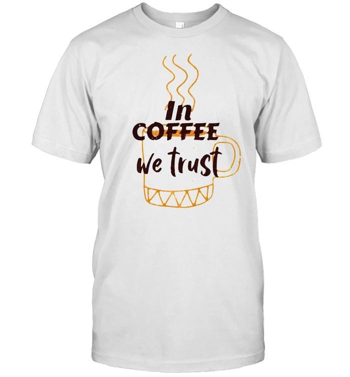 In coffee we trust shirt Classic Men's T-shirt