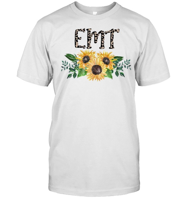 EMT Life Leopard Sunflower 2021 shirt Classic Men's T-shirt