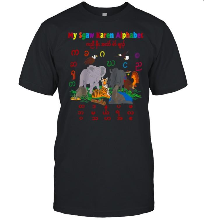 My Sgaw Karen Alphabet  Classic Men's T-shirt