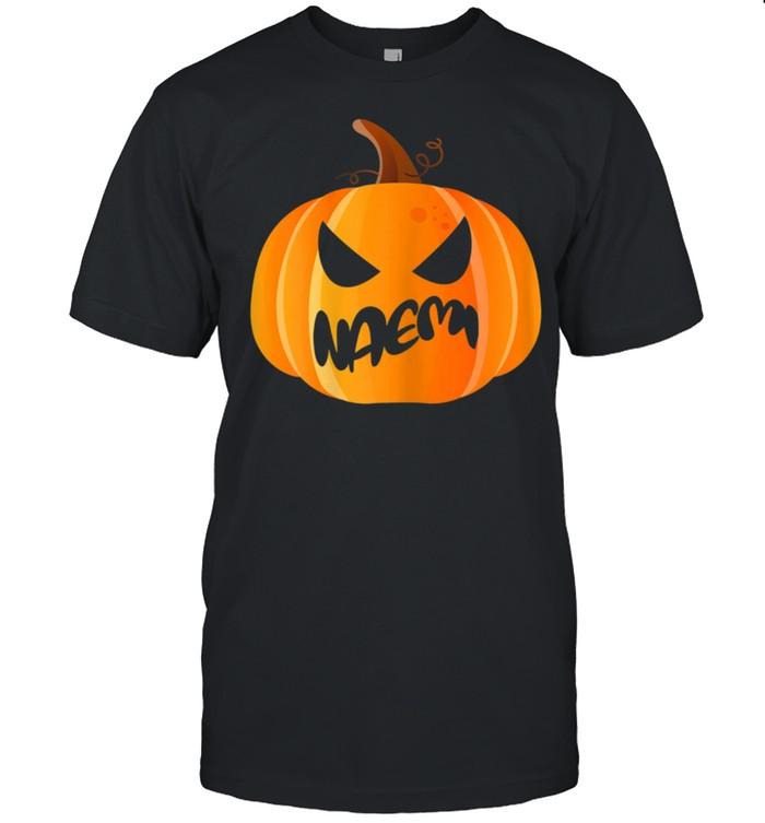 Naemi Name Custom Pumpkin Personalized Halloween shirt Classic Men's T-shirt