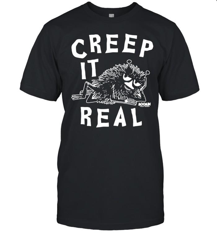 The Moomins Stinky Creep It Real T-shirt Classic Men's T-shirt