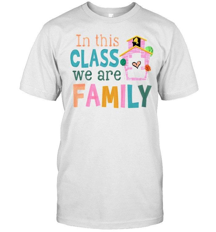 In this class we are Family shirt Classic Men's T-shirt