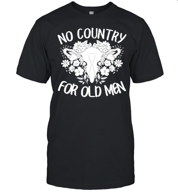 No Country For Old Men Uterus Feminist  Classic Men's T-shirt