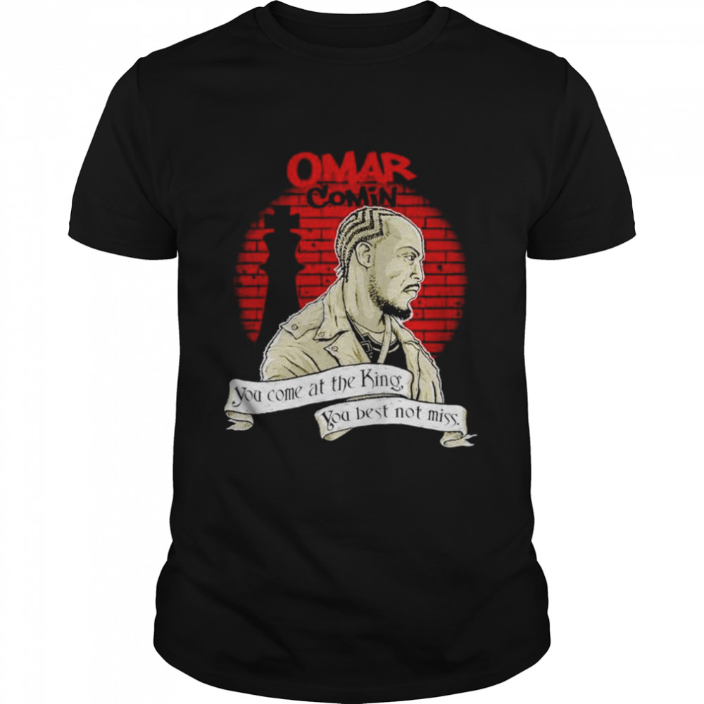 Michael K. Williams omar comin you come at the king shirt Classic Men's T-shirt