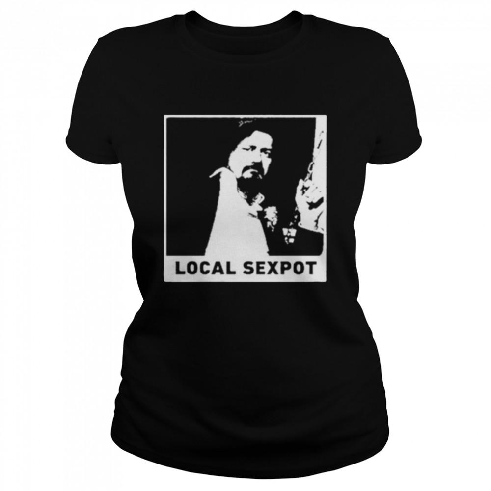 wKUK Trevor Moore local sexpot shirt Classic Women's T-shirt