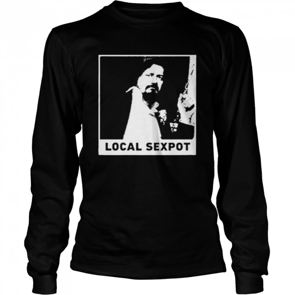 wKUK Trevor Moore local sexpot shirt Long Sleeved T-shirt