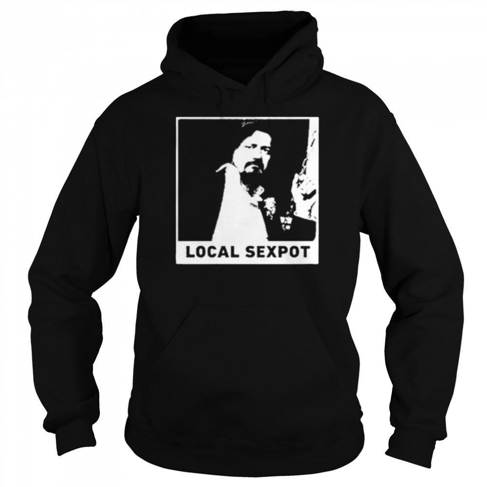 wKUK Trevor Moore local sexpot shirt Unisex Hoodie