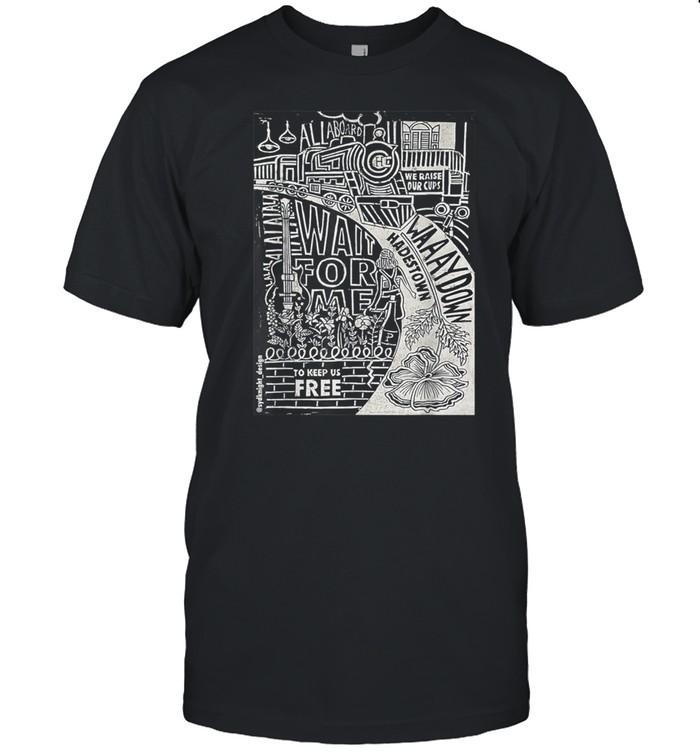 Hadestown Linocut shirt Classic Men's T-shirt