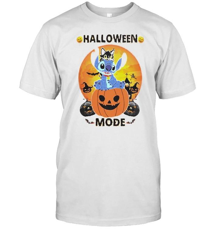 Stitch pumpkin Halloween mode shirt Classic Men's T-shirt