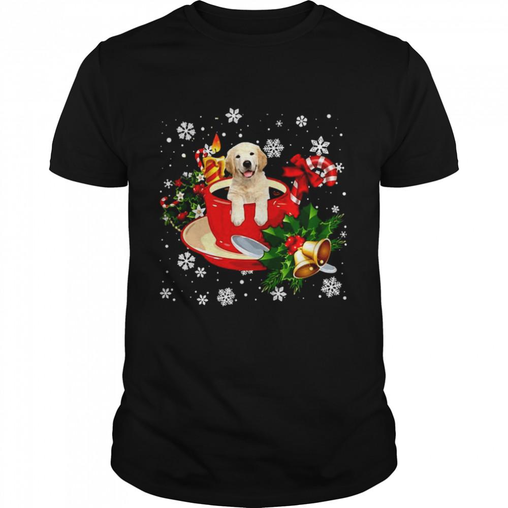 Labrador Christmas Dog  Classic Men's T-shirt